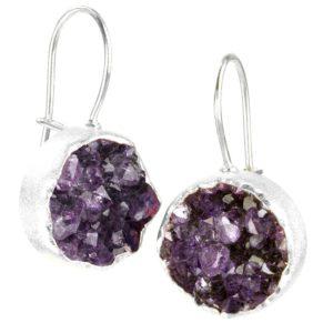 Chillaxin Silver Earrings
