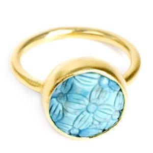 Serenade Vermeil Ring