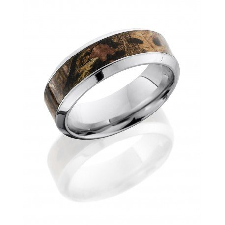 Kings Woodland Polished Men's Ring