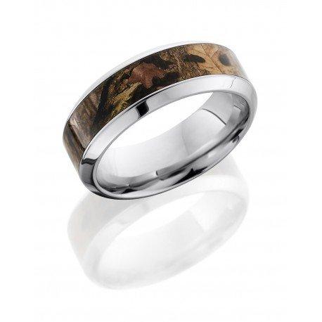 Kings Woodland Polished Men's Ring