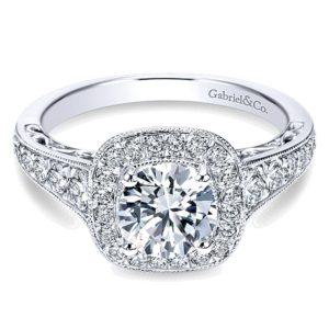Gabriel-14k-White-Gold-Diamond-Halo-and-Channel-Milgrain-Engagement-Ring-ER7293W44JJ-1