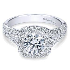 Gabriel-14k-White-Gold-Diamond-Pave-Split-Shank-Halo-Engagement-Ring-ER10252W44JJ-1