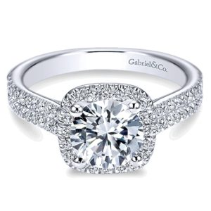 Gabriel-14k-White-Gold-Diamond-Round-Halo-Engagement-Ring-with-Double-Pave-Shank-ER6984W44JJ-1