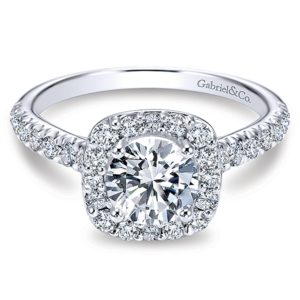 Gabriel-14k-White-Gold-Diamond-Round-Halo-Engagement-Ring-with-Pave-Shank-ER6872W44JJ-1