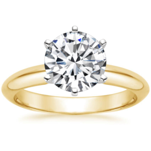 1CT Round Diamond Soliaire
