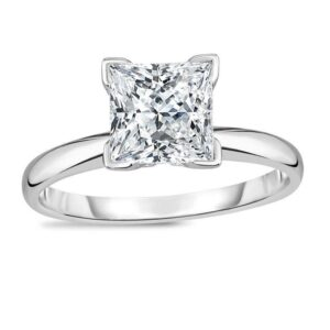 1/2CT Gorgeous Princess Cut Solitaire